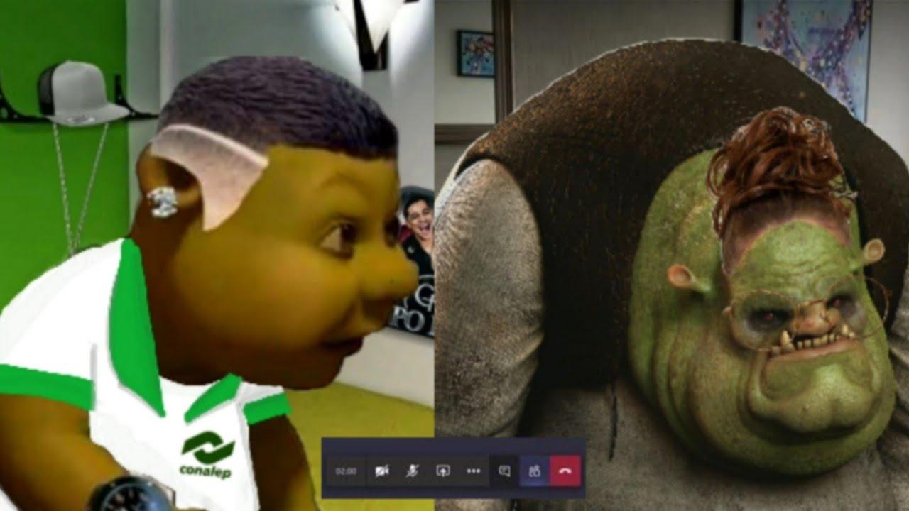 Shrek Buchon tiene clases online y lo regañan😂/ Ep 7