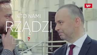 """Łukasz Mężyk i prezydencki minister Paweł Mucha w """"Kto Nami Rządzi"""""""