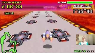 Let's Play F-Zero - MaxVelocity I Part 143 I die Comet-Violet-Queen-Duelle