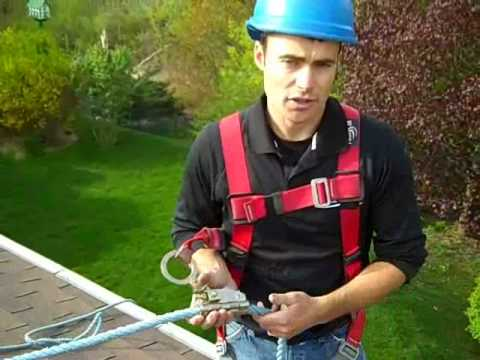 Prevent Falls Off Your Roof Using Harness Youtube