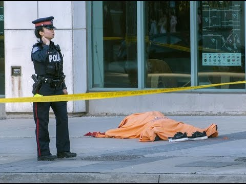 Nine killed, 16 injured by driver in Toronto: Police