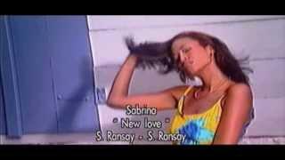 Le clip Exclu !!! SABRINA Ransay -  new love / zouk rétro 2008 .2013
