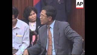 Cambodia - Hun Sen reacts to ASEAN