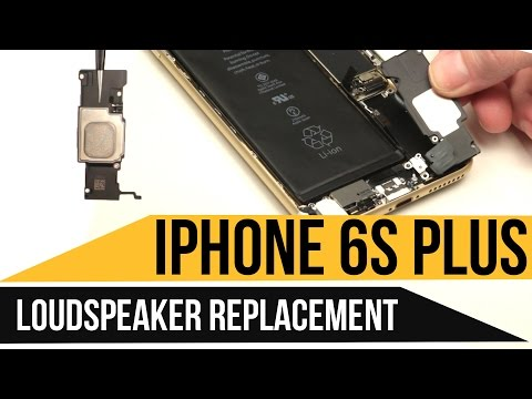 IPhone 6s Plus Loudspeaker Replacement Video Guide