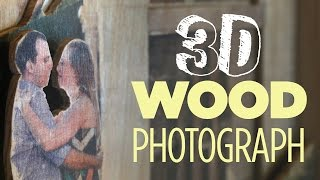 Mike Makes A 3d Wood Photo