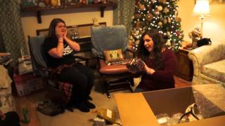 huntlea opening gifts from taylor swift part 1