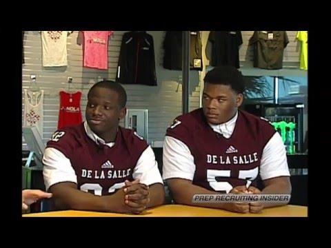 Prep Recruiting Insider - De La Salle OL Jeremiah James & DT Danquan Edwards