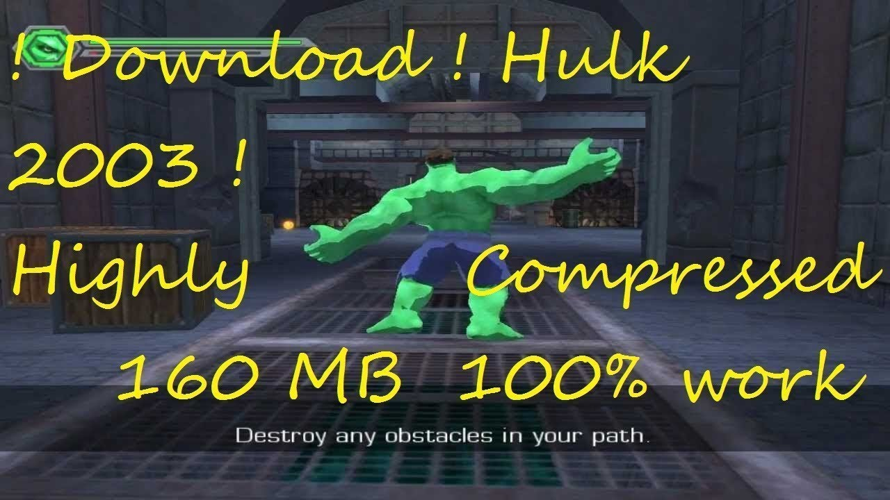 hulk games free download full version for windows 7