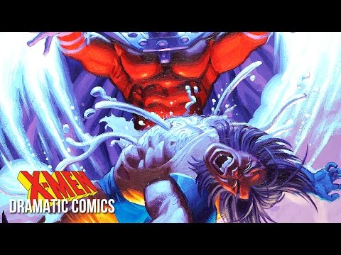 WOLVERINE VS MAGNETO | Dramatic Comics