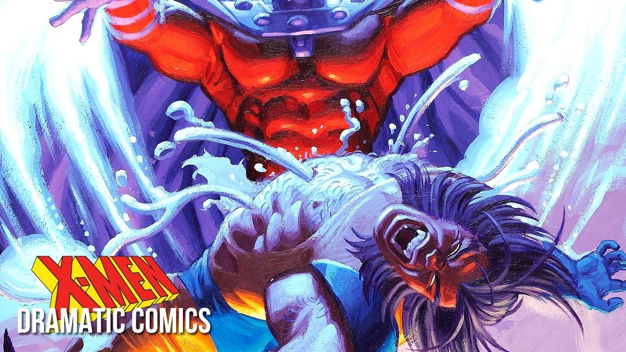 Wolverine Vs Magneto Adamantium