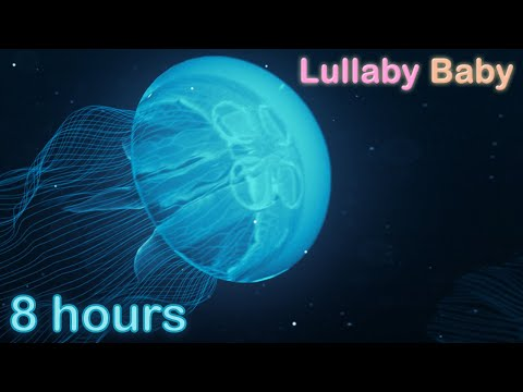 ☆ 8 HOURS ☆ UNDERWATER SOUNDS with MUSIC ♫ ☆ Relaxing Lullaby Baby Sleep Music