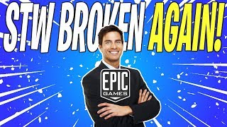 Epic Games Completely Breaks Fortnite Save The World In Update v7.40