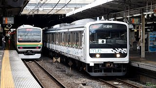 2019/08/22 【試運転】 MUE-Train 大宮駅 | JR East: Test Run by MUE-Train at Omiya