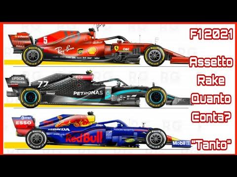 Formula 1 verso Imola: Assetto Rake nelle F1 2021, Ferrari e tanta, tanta tecnica.