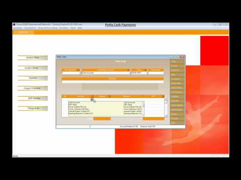 Petty Cash Entry -  Focus Accounting Software