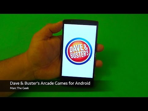 Dave & Buster's Arcade Games On Android
