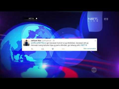 Tanggapan Netizen Pada Rencana Tata Kota Jakarta - NET16