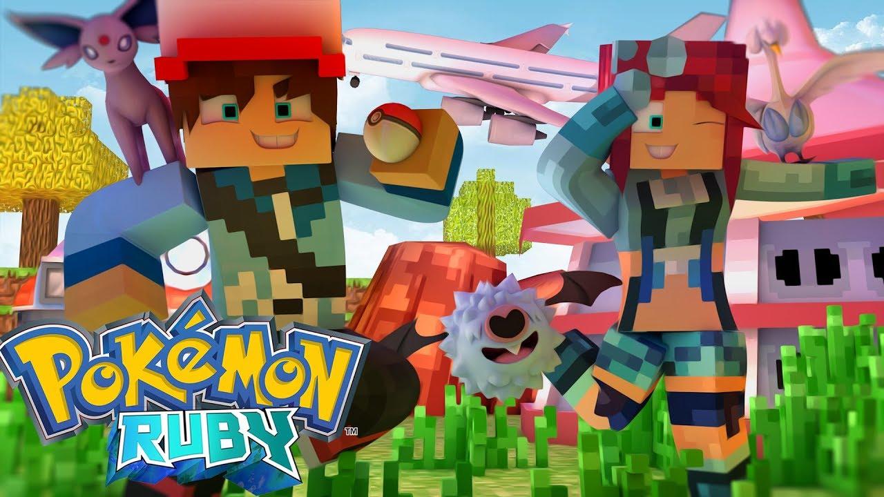 Minecraft: Pokemon Ruby - O Ginásio Do Aeroporto !?! #169