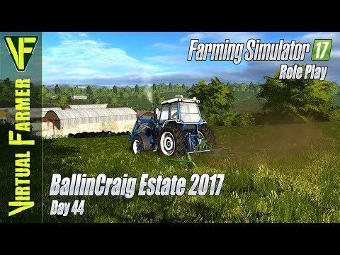 Harrow Issues & Selling Wool  | BallinCraig Estate 2017, Day 44: Farming Simulator 17 RolePlay