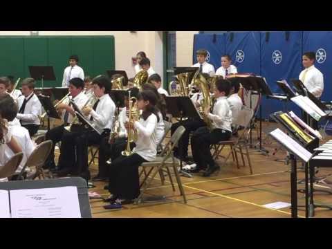 Doolittle School 5th grade band, Star Wars theme