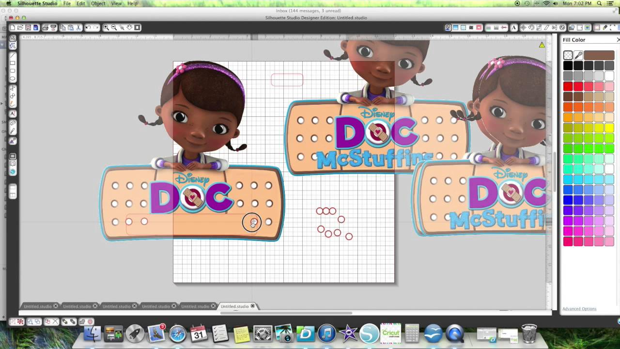 Personalized Doc McStuffins sign - YouTube