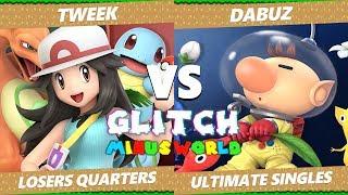 Glitch 7 SSBU - Liquid Dabuz (Olimar) VS TSM Tweek (PT) Smash Ultimate Losers Quarters