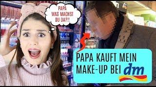 Was zur Hölle 👹 PAPA kauft mein Make up bei DM 🤡