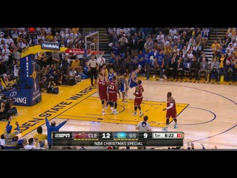 NBA Christmas 2015 - ᴴᴰ Cleveland Cavaliers vs Golden State Warriors Highlights | December 25, 2015