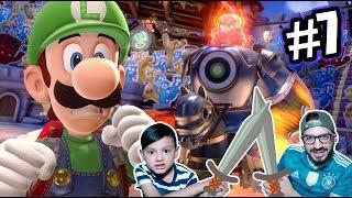 El Rey Loco en la Mansion de Luigi | Luigi's Mansion 3 Capitulo 7 | Juegos Karim Juega