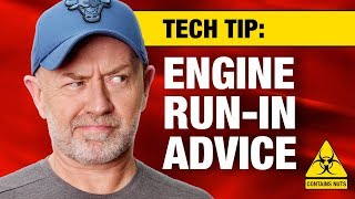 How to run in a modern engine (plus nuts - yessss!) | Auto Expert John Cadogan