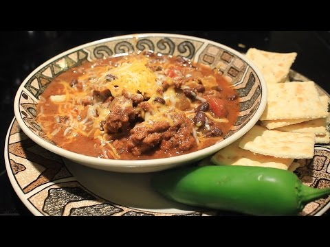 Awesome ~ Slow Cooker Chili W/ Black Beans ~ Crock Pot