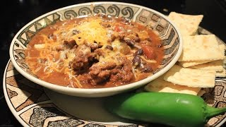 Awesome  Slow Cooker Chili w Black Beans  Crock Pot