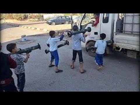 LES ENFANTS SOLDATS EN SYRIE REPORTAGE CHOC 2017 [+18]