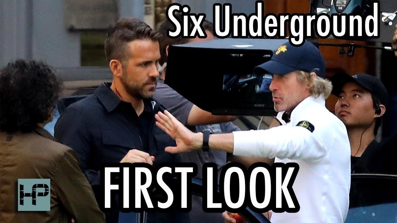 Download First Shots of Ryan Reynolds on 'Six Underground' Set - Netflix Original Directed by Michael Bay