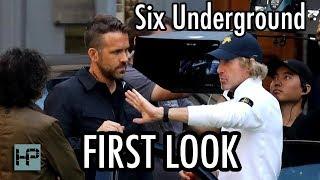 First Shots Of Ryan Reynolds On Six Underground Set Netflix Original Directed By Michael Bay