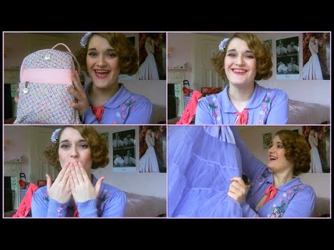 My First Petticoat! | Vintage Spring Haul - Bags, Books & Clothes! | Rheanne Kelly Beauty