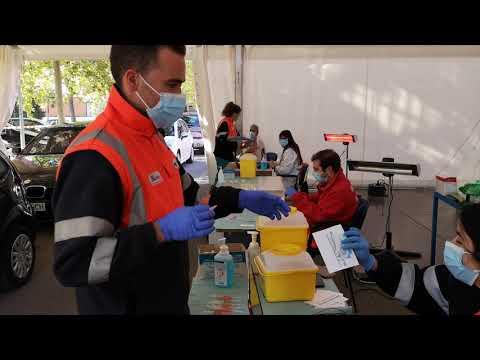 vacunación en el Hospital El Bierzo Ponferrada
