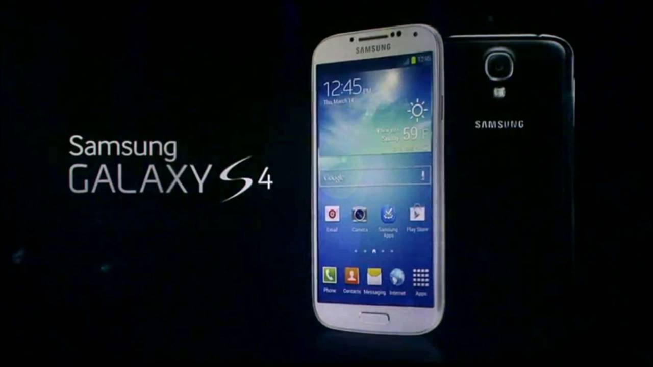 Samsung Galaxy S4 (Over The Horizon Ringtone) - YouTube