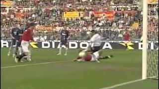 2006/07 Roma-Catania 7-0 Panucci Mancini Perrotta Perrotta Panucci Montella Totti