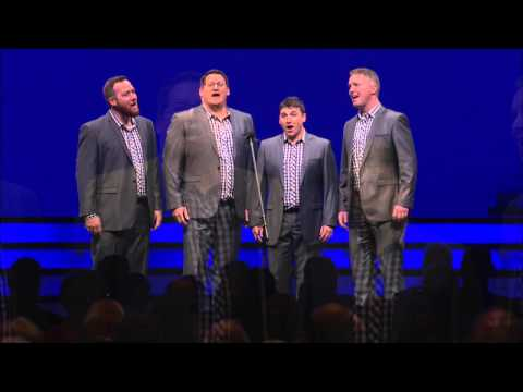 Australian national anthem Advance Australia Fair performed by barbershoppers