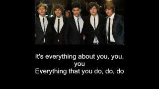 One Direction - Everything about you Lyrics - 1D