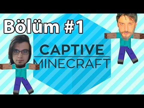 Minecraft: Captive #1 - Kapana Kısıldık   Türkçe