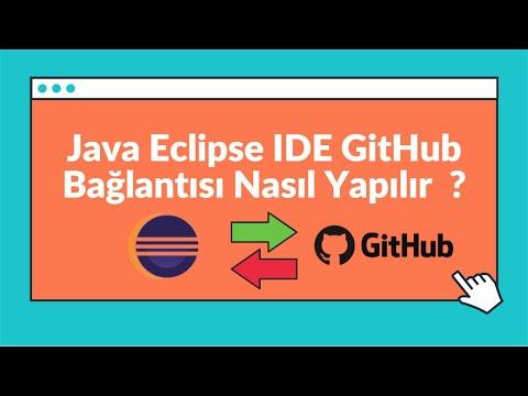 Eclipse IDE ile GitHub Nasıl Kullanılır ?