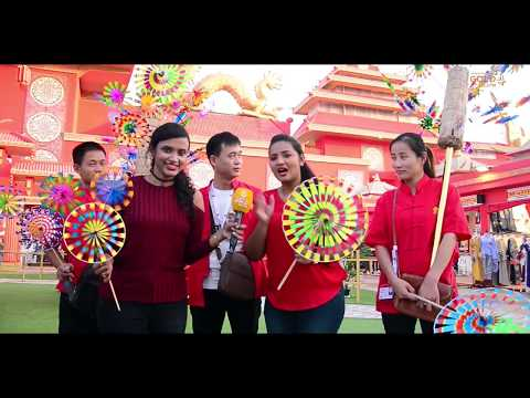 The Global Village In Dubai With Gold FM Malayalam Radio Channel | Explore the China in Dubai