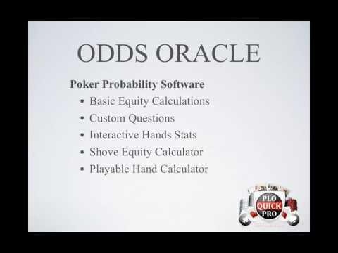 PLO QuickPro 2   Odds Oracle And Vid