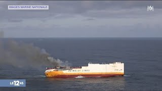 Naufrage d'un cargo : craintes sur la côte Atlantique