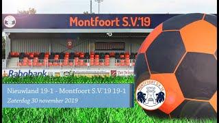 Nieuwland JO19-1 - Montfoort S V '19 JO19-1
