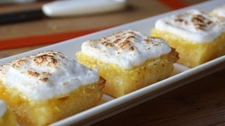 Lemon Bars - Easy Lemon Meringue Bars Recipe