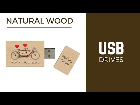 Wooden USB Drives | Wood Flash Drives | Pen Drives