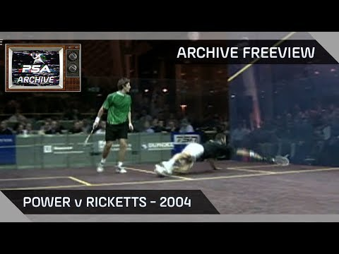 Squash: Archive Freeview - Power v Ricketts 2004